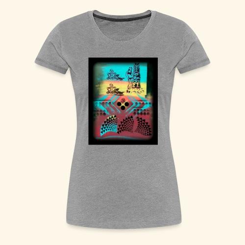 Aloha Pattern - Women's Premium T-Shirt