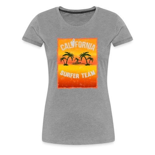 california surfer - Women's Premium T-Shirt