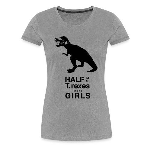Tyrannosaurus Rex - Women's Premium T-Shirt