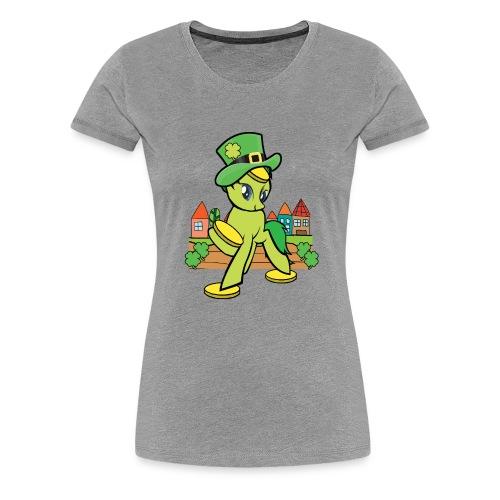 Irish Lucky Pony - Women's Premium T-Shirt