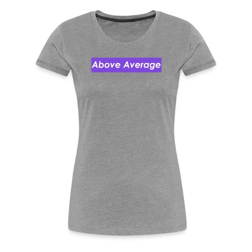 Above Average Sneaker Con CLE Editon - Women's Premium T-Shirt