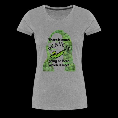 Much Peaness - Women's Premium T-Shirt