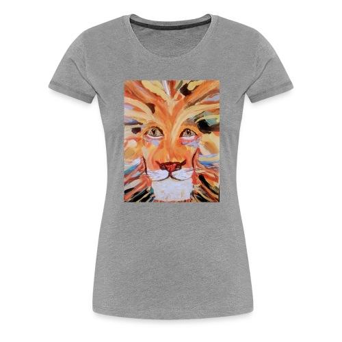 Daktari the colorful lion - Women's Premium T-Shirt