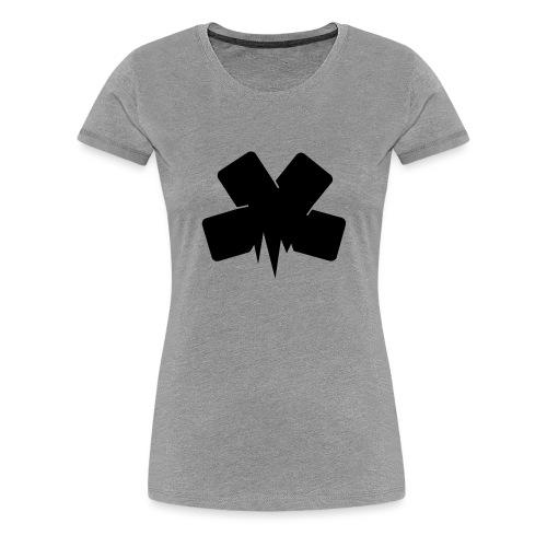PixelSashay - Black Logo - Women's Premium T-Shirt