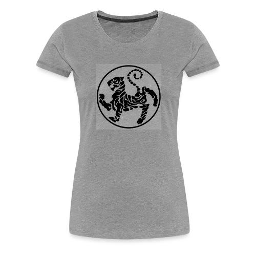 Shotokan-Tiger_black - Women's Premium T-Shirt