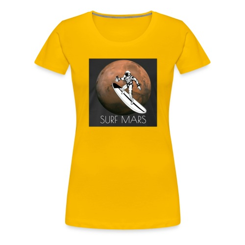space surfer - Women's Premium T-Shirt