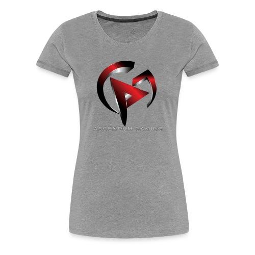 Ascendum Gaming Logo - Women's Premium T-Shirt