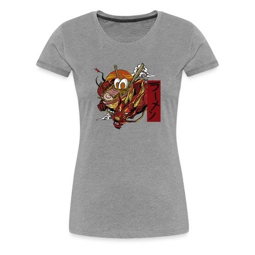 Great Ramen Of Dragon - Women's Premium T-Shirt