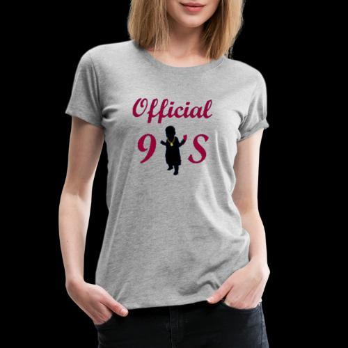 90s baby - Women's Premium T-Shirt