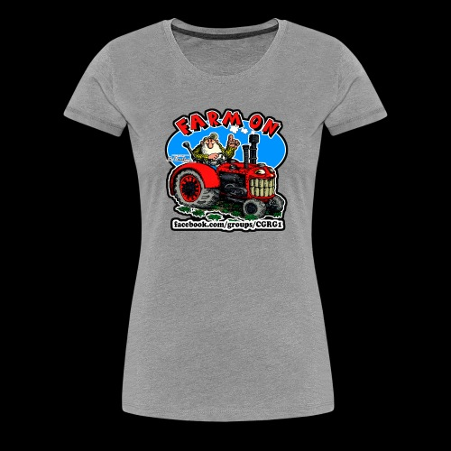 Mr Natural Farm On - Women's Premium T-Shirt