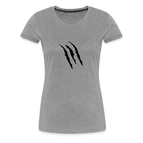 3 claw marks Muscle shirt - Women's Premium T-Shirt