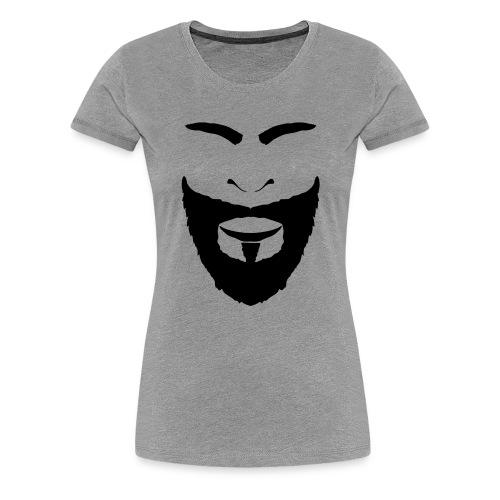 FACES_BEARD - Women's Premium T-Shirt