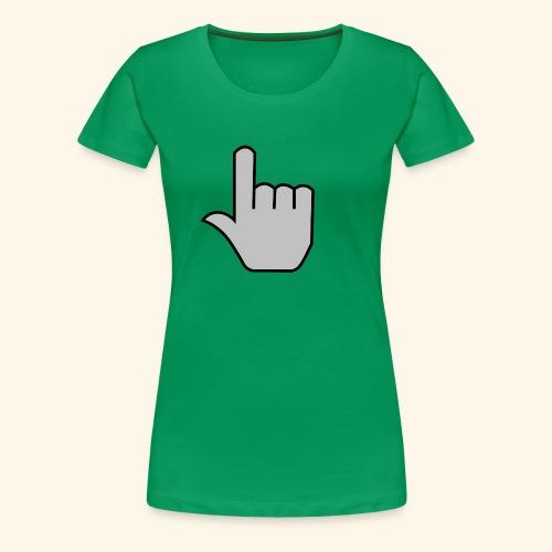 click - Women's Premium T-Shirt