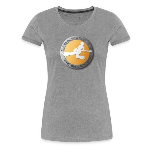 The Music Movement - Women's Premium T-Shirt