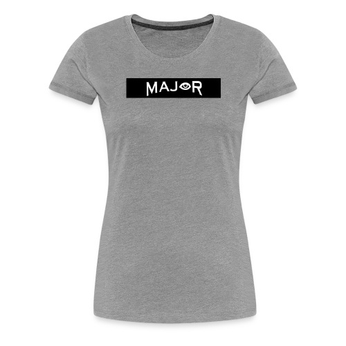 MAJOR Original - Women's Premium T-Shirt