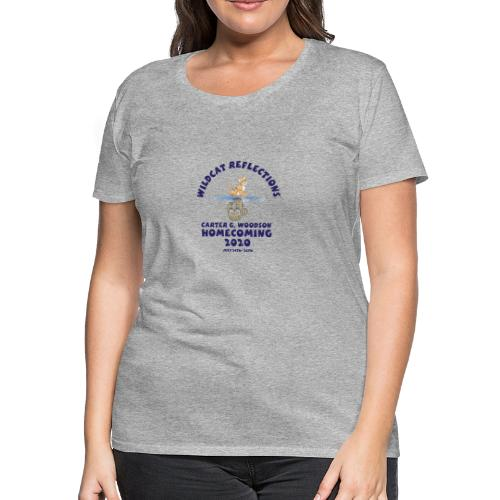 Carter G Woodson Homecoming Logo Blue - Women's Premium T-Shirt