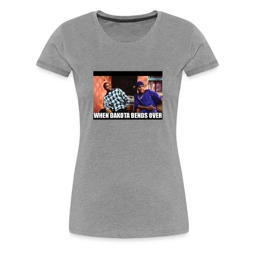 Dakotas thicc - Women's Premium T-Shirt