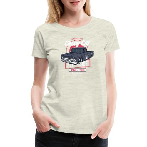 Chevy C10 - American Legend - Women's Premium T-Shirt