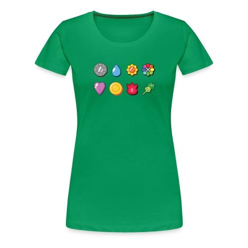 badges - Women's Premium T-Shirt