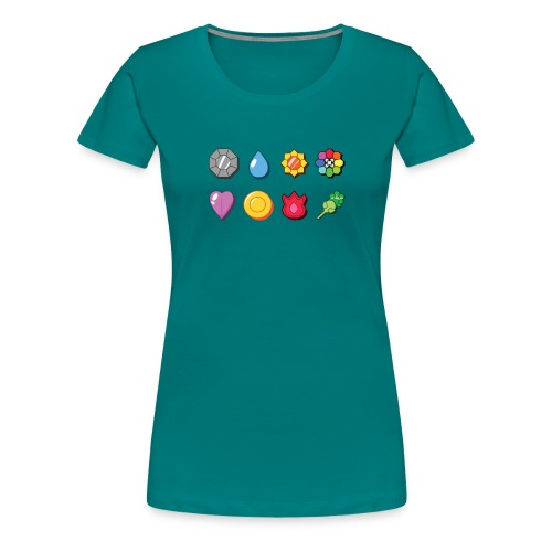 badges - Women's Premium T-Shirt