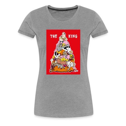 The king red - Women's Premium T-Shirt