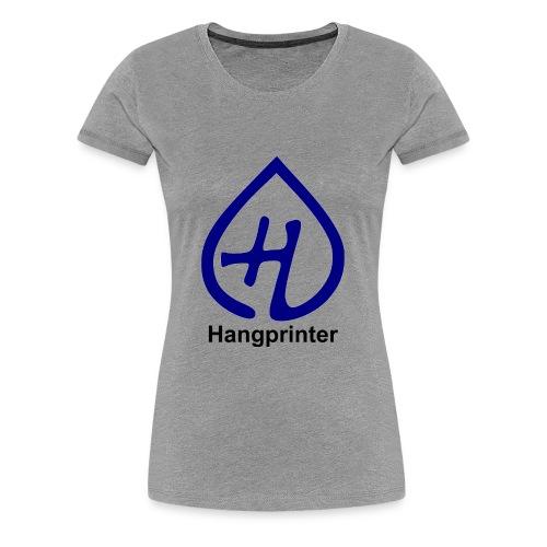 Hangprinter Logo and Text - Women's Premium T-Shirt