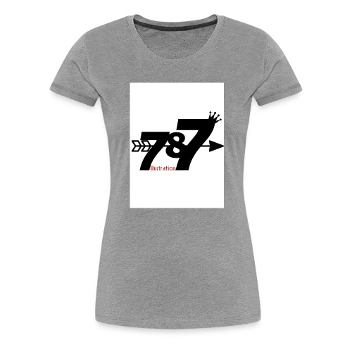 787 illustration - Women's Premium T-Shirt