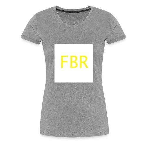 fbr1 - Women's Premium T-Shirt
