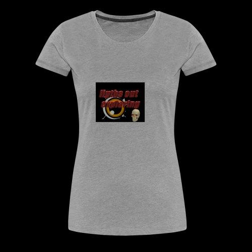 ligths out exploring - Women's Premium T-Shirt