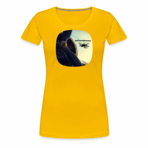"InovativObsesion ""PROP TURNER"" apparel - Women's Premium T-Shirt"