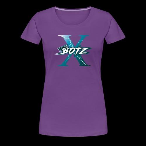 BOTZ X Logo Plain - Women's Premium T-Shirt