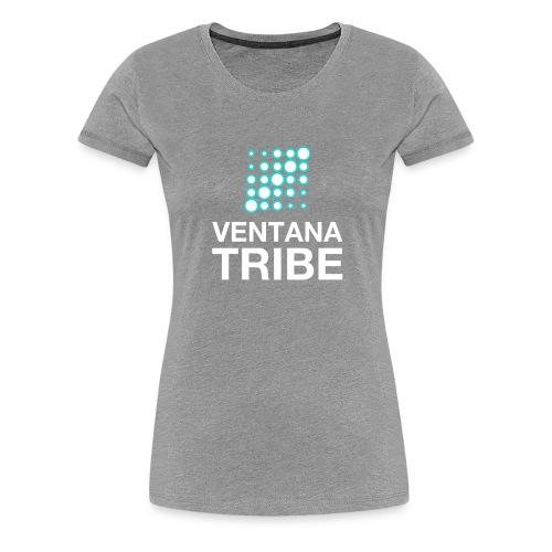 Ventana Tribe White Logo - Women's Premium T-Shirt
