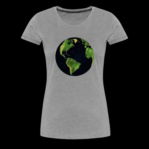 Galactic Earth - Women's Premium T-Shirt