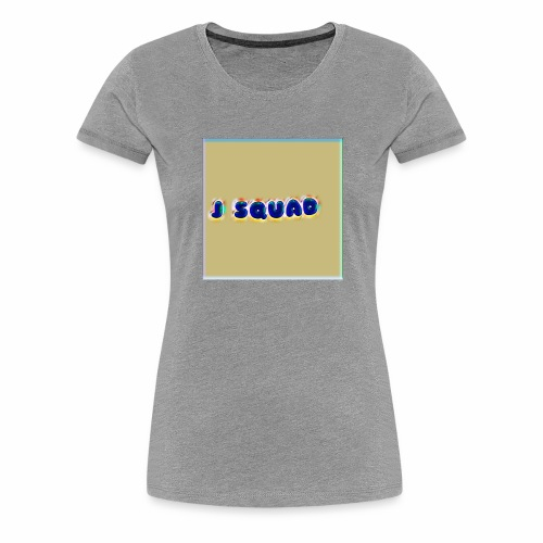 The J SQUAD RAINBOW - Women's Premium T-Shirt