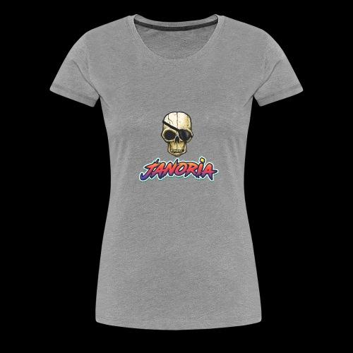 Janoria Main Logo - Women's Premium T-Shirt