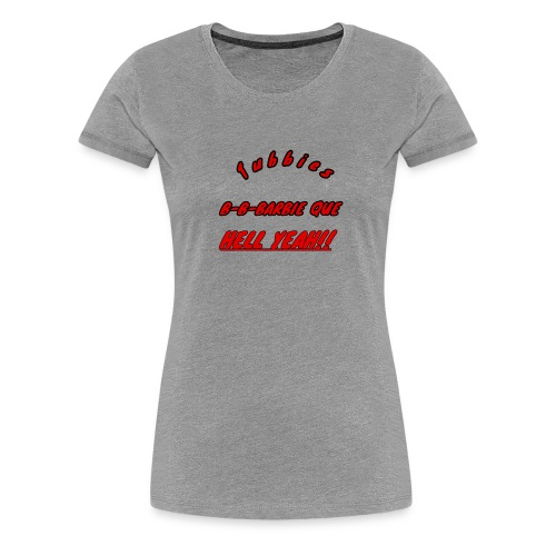 bbq - Women's Premium T-Shirt