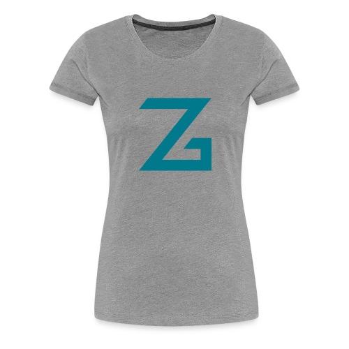 ZzasserGaming - Women's Premium T-Shirt