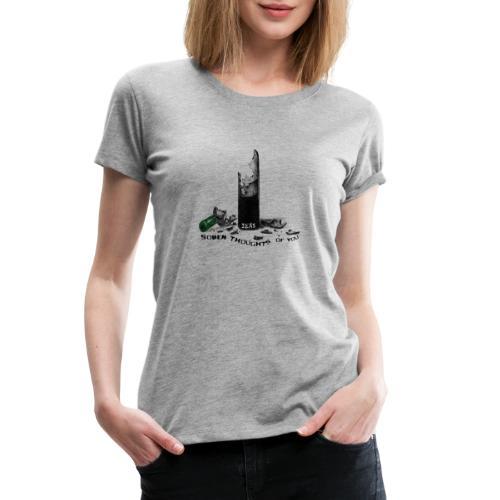 SOBER MERCH - Women's Premium T-Shirt