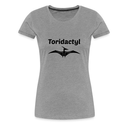 Tori Davis Black Toridactyl Merch Design - Women's Premium T-Shirt