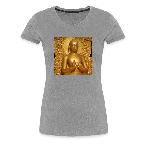 golden buddha - Women's Premium T-Shirt