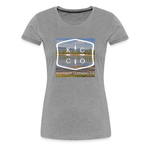 Kootenay Clothing Co Logo Wear - Women's Premium T-Shirt