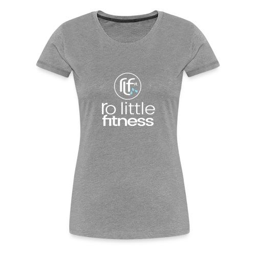 Ro Little Fitness - outline logo - Women's Premium T-Shirt