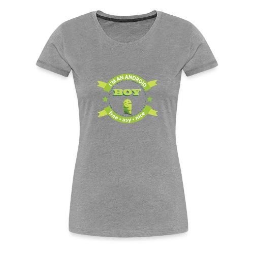 Android Man - Women's Premium T-Shirt