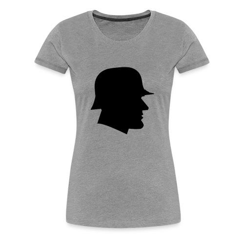 Soldier silhouette - Women's Premium T-Shirt