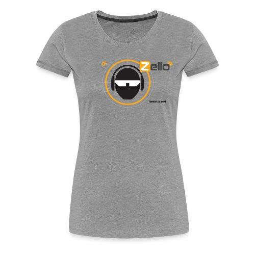 TSP Zello Logo - Women's Premium T-Shirt
