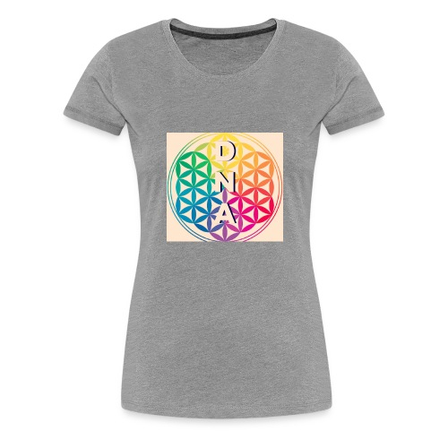 Flower of Life - DNA - Women's Premium T-Shirt