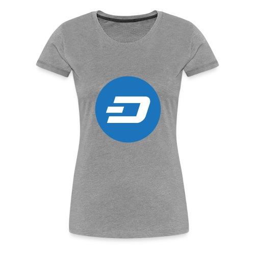 Dash Coin - Women's Premium T-Shirt