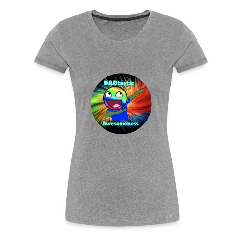DABtastic Awesomeness Logo - Women's Premium T-Shirt