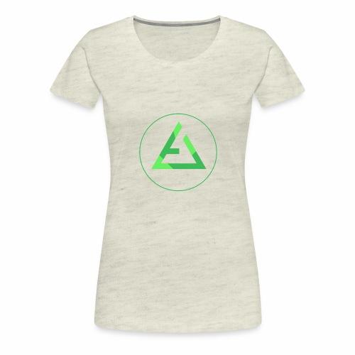 crypto logo branding - Women's Premium T-Shirt
