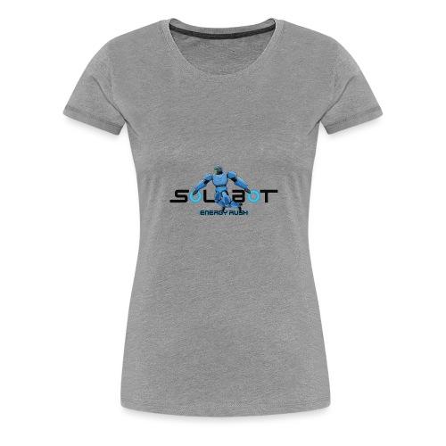 Solbot Black Text - Women's Premium T-Shirt